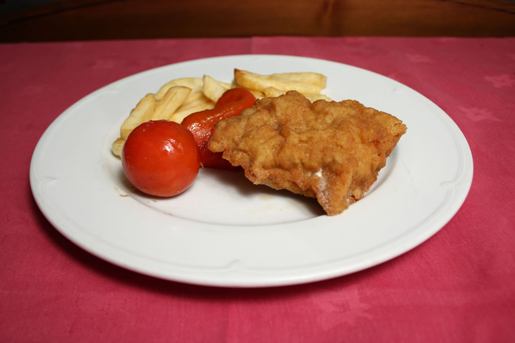 Escalope cordon blue de ternera